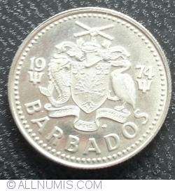 Image #2 of 10 Cents 1974