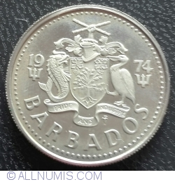 Image #2 of 25 Cents 1974