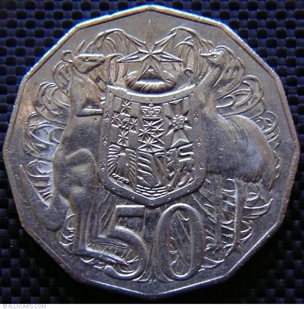 50 Cents 2006 Elizabeth Ii 1952 Present Australia