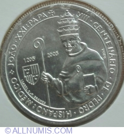 Image #2 of 5 Euro 2005 - 800th Anniversary of the Birth of Pope John XXI
