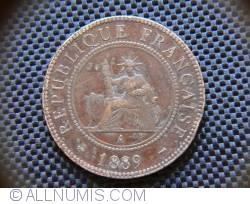 Imaginea #2 a 1 Cent 1889