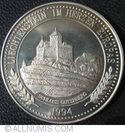 Imaginea #2 a 5 Ecu 1994 - Schloss Gutenberg