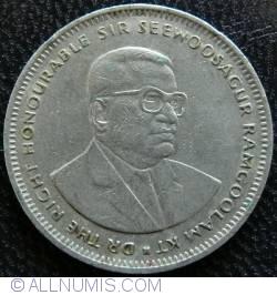 Image #2 of 1 Rupee 1990