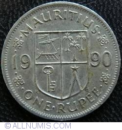 Image #1 of 1 Rupee 1990
