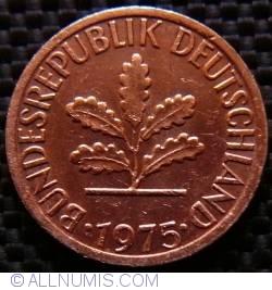 Image #2 of 1 Pfennig 1975 G