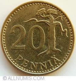Image #1 of 20 Pennia 1980