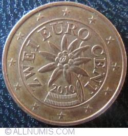 Imaginea #2 a 2 Euro Centi 2010