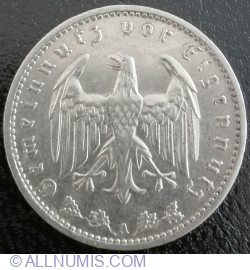 Image #2 of 1 Reichsmark 1934 A