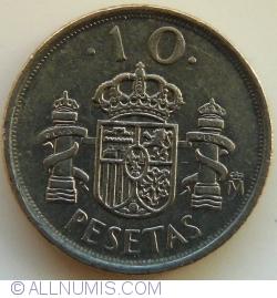 Image #1 of 10 Pesetas 1999