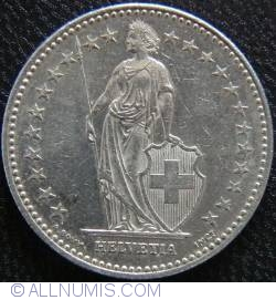 Image #2 of 2 Francs 1998