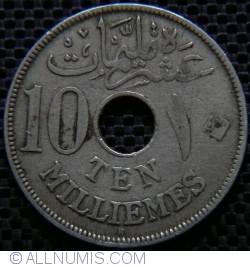 Image #1 of 10 Milliemes 1916 (AH 1335 - ١٣٣٥) H