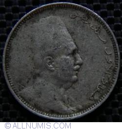 Imaginea #2 a 2 Milliemes 1924 (AH 1342) (١٣٤٢ - ١٩٢٤)