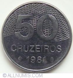 Image #1 of 50 Cruzeiros 1981