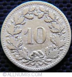 Image #1 of 10 Rappen 1895