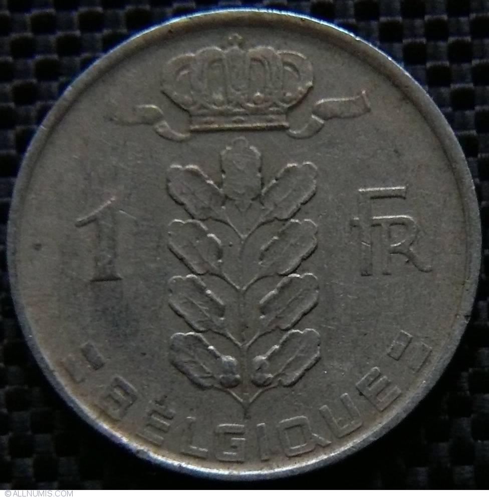 1 Franc 1951 Belgique