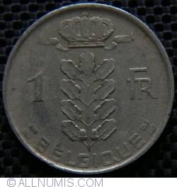 Image #1 of 1 Franc 1951 (BELGIQUE)