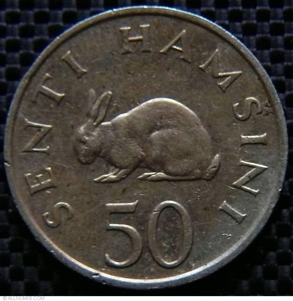 Tanzania 50 Senti 1981 UNC Lemberg-Zp