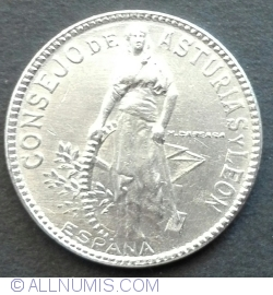 Image #2 of 2 Pesetas 1937