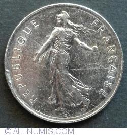 Image #2 of 5 Francs 1989