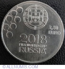 Image #1 of 2,5 Euro 2018 - FIFA World Cup Russia 2018