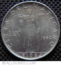 Image #1 of 100 Lire 1962 (IV)