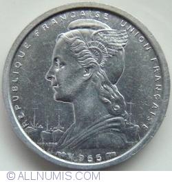 Image #2 of 2 Francs 1955