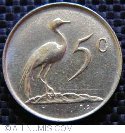 Image #1 of 5 Cents 1981