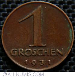 Image #1 of 1 Groschen 1931