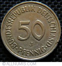 Imaginea #1 a 50 Pfennig 1991 J