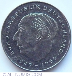 Image #2 of 2 Mark 1985 J - Theodor Heuss