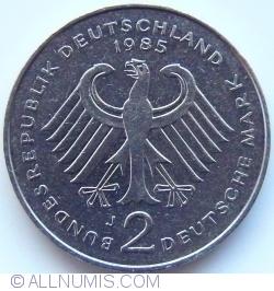 2 Mark 1985 J - Theodor Heuss
