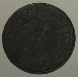 Image #2 of 10 Reichspfennig 1943 B