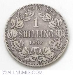 Image #2 of 1 Shilling 1893