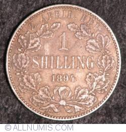 Image #2 of 1 Shilling 1894