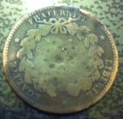 Image #1 of 5 Centimes 1871 A