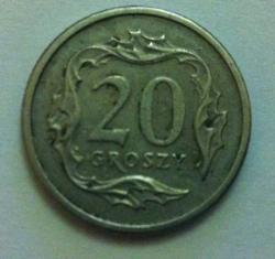 Image #1 of 20 Groszy 1990