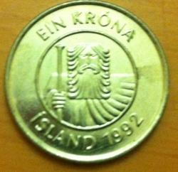 1 Krona 1992