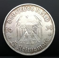 Image #1 of 5 Reichsmark 1934 E