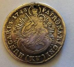 Imaginea #1 a 15 Krajczar 1748