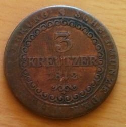 Image #1 of 3 Kreuzer 1812 E