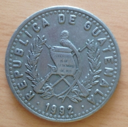 Image #2 of 25 Centavos 1992