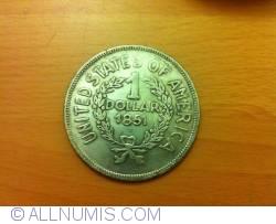 Imaginea #1 a [FANTEZIE] 1 Dollar 1851