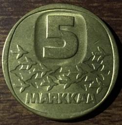 Image #1 of 5 Markkaa 1987 M