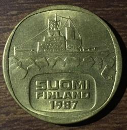 Image #2 of 5 Markkaa 1987 M