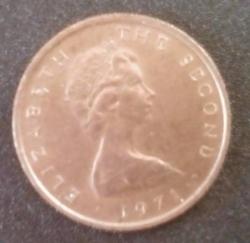 Imaginea #2 a 1/2 new penny 1971