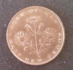 Imaginea #1 a 1/2 new penny 1971