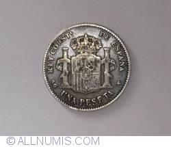 Image #2 of 1 Peseta 1899