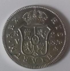 2 Reales 1811 REPLICA