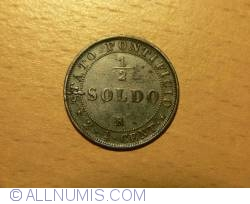 Image #1 of 1/2 Soldo (2-1/2 Centesimi) 1867 (XXII)