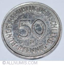 Imaginea #1 a 50 Pfennig 1992 D